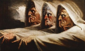 The Weird Sisters (The Three Witches), ca 1782. Found in the collection of The Huntington, California. Artist : Füssli (Fuseli), Johann Heinrich (1741-1825). (Photo by Fine Art Images/Heritage Images/Getty Images)