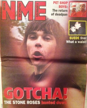 NME cover 1993 Ian Brown.