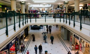 Intu Bromley shopping centre in Kent.