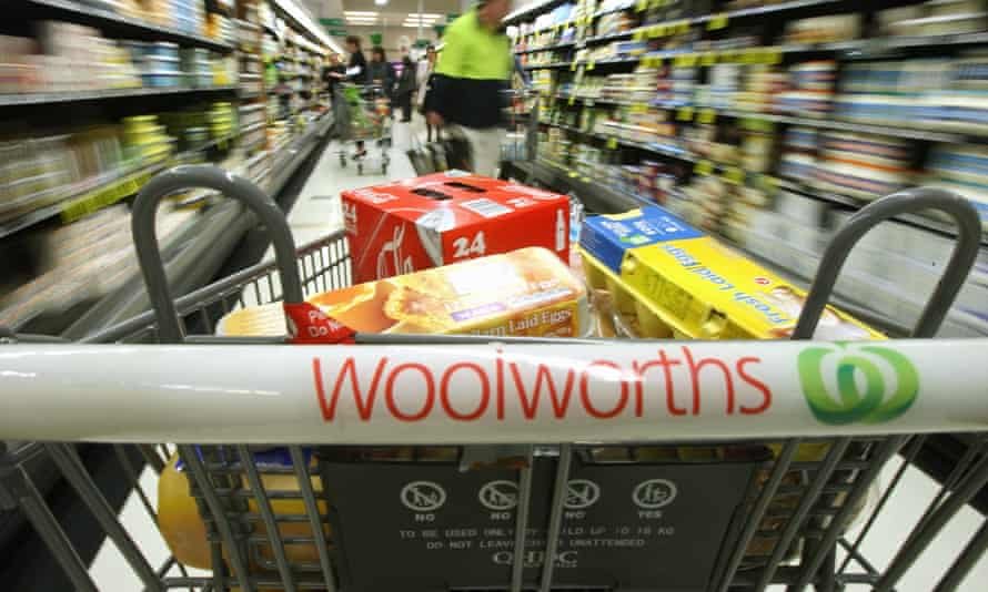 Woolworths trolley