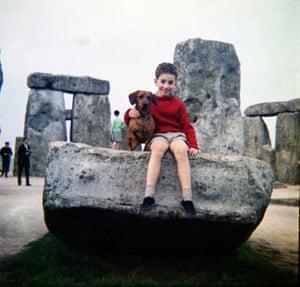 Stonehenge in 1970 by Christine Rashleigh-Berry.