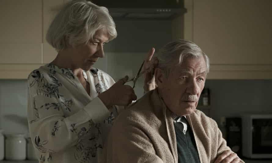 Vengeful … with Ian McKellen in The Good Liar.