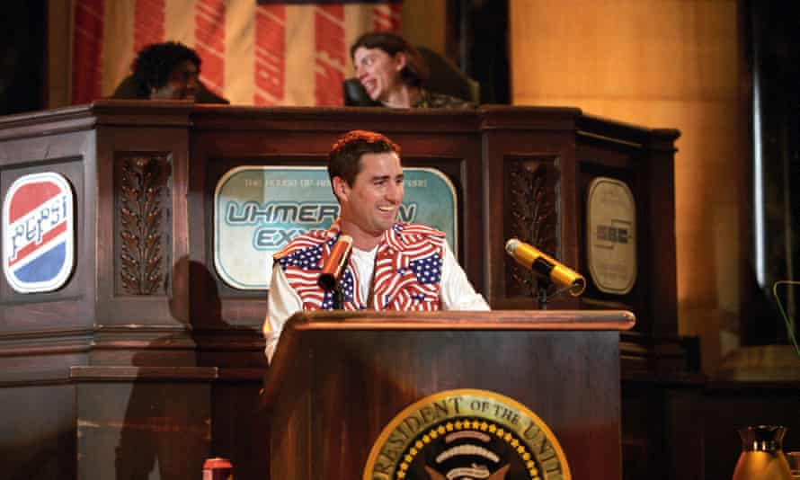 Luke Wilson as Joe Bauers in Idiocracy.