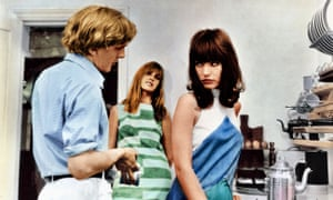 David Hemmings, Gillian Hills and Jane Birkin in Antonioni's 1966 film, Blow-Up.