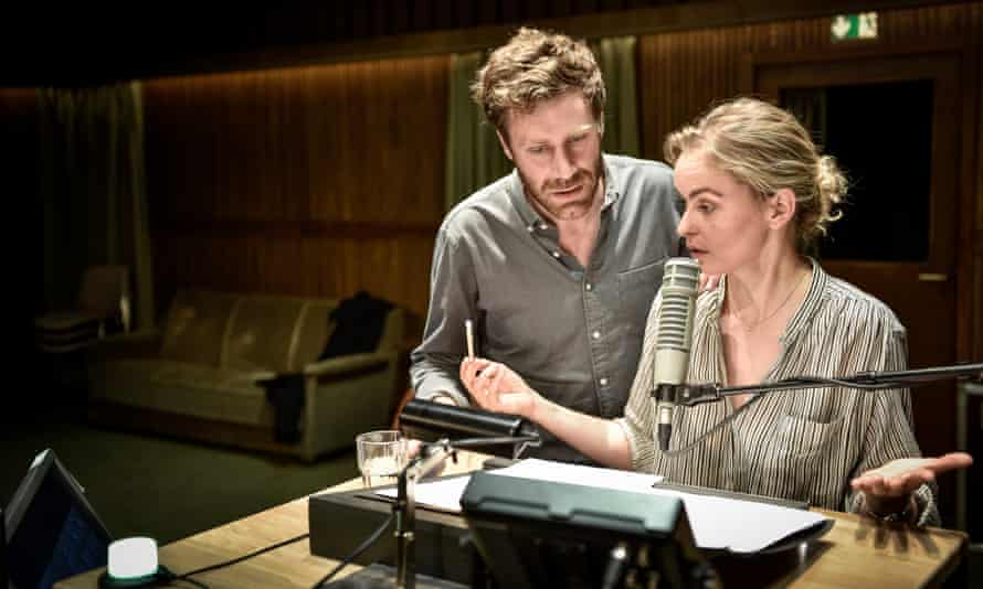 Bush Moukarzel and Nina Hoss in Returning to Reims.