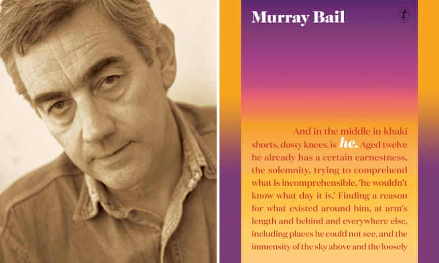 Murray Bail and his new book, He.
