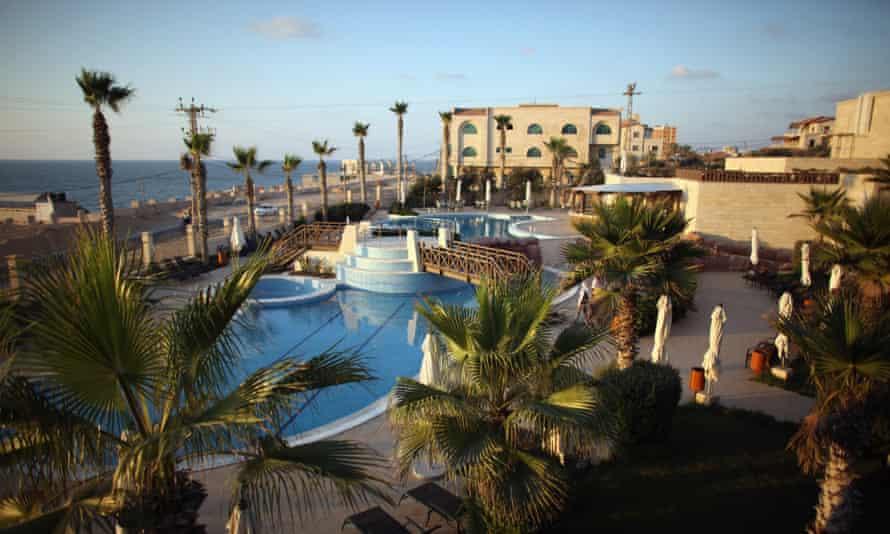 The five-star Arcmed al-Mashta Hotel, built in 2011
