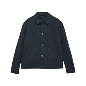 Button up shirt jacket, £69