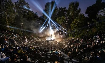 Jesus Christ Superstar: The Concert at Regent's Park Open Air theatre last month.