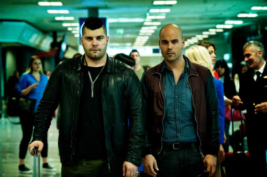 Marco D'Amore and Salvatore Esposito as Gomorrah's TV gangsters.