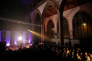 Kate Tempest and her band perform her second solo album, Let Them Eat Chaos, at Hull Minster