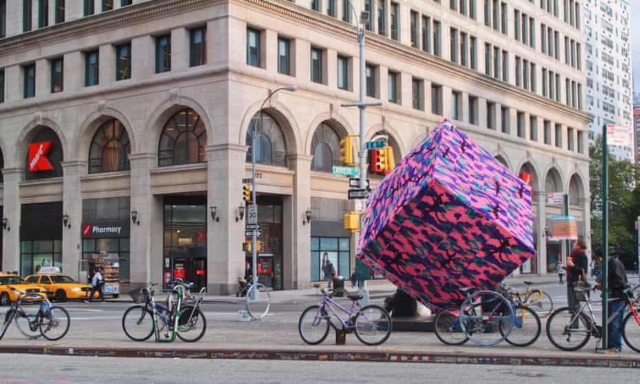 The cube has been the subject of numerous pranks and hoaxes, from being covered in yarn to being converted to a Rubik's cube.