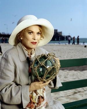 Maureen O'Hara in tv movie The Last Dance, 2000
