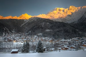 Beaufort is a sleepy town in the beautiful Haute-Savoie.