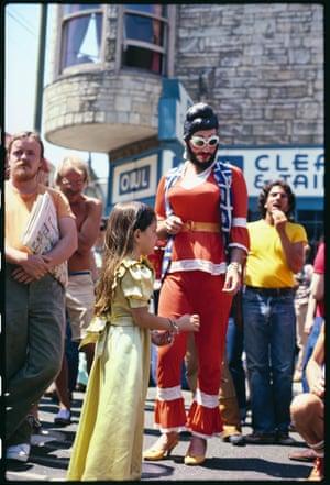 Castro Street Fair 1977_08, Ananda Johnopolous and Tahara (Angels of Light)