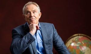 Me again: Tony Blair.