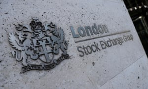 The entrance of the London Stock Exchange in London