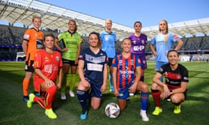 The W-League season was launched at Bankwest Stadium last week.