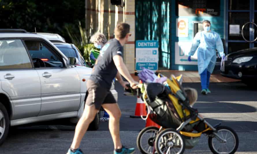 A New Zealand street scene