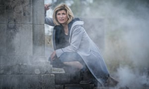 Jodie Whittaker as the Doctor in series 12 of the BBC show.