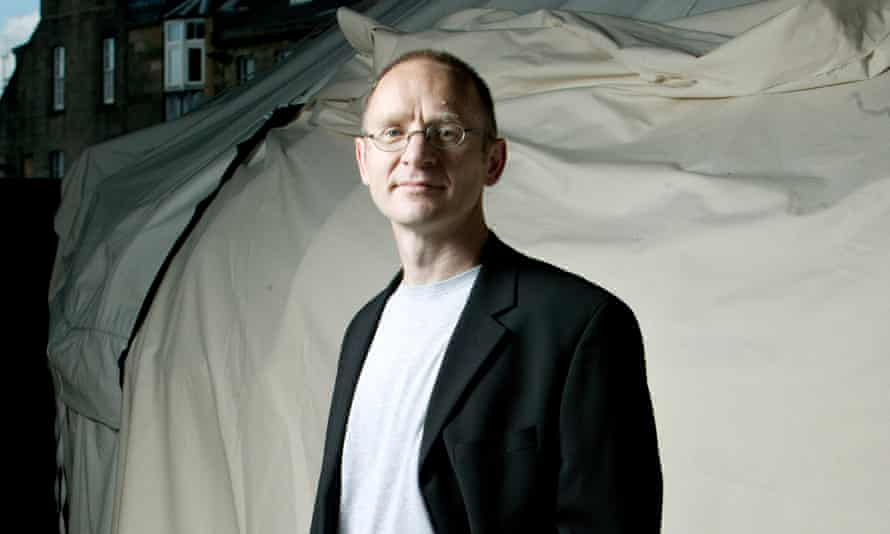 Author James Robertson.