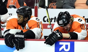 Wayne Simmonds and Jakub Voracek reflect on a heavy loss for the Flyers