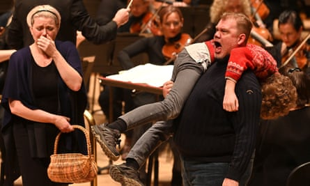 A formidable achievement … Erin Wall and Stuart Skelton in Peter Grimes.