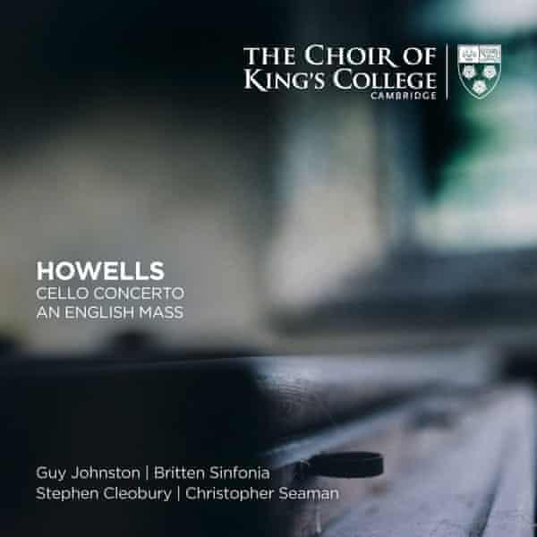 Howells: Cello Concerto; An English Mass, etc album artwork