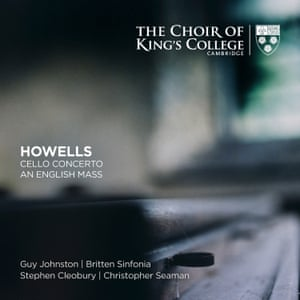 Howells: Cello Concerto; An English Mass, etc album artwork