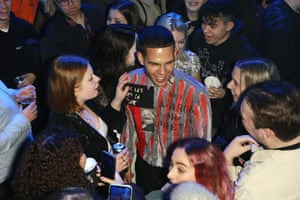 Slowthai at the NME awards.
