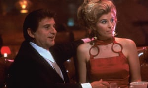 Joe Pesci and Katherine Wallach in Goodfellas.