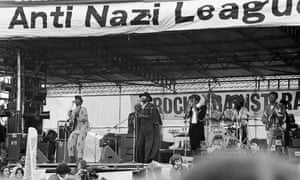 Steel Pulse at a 1978 concert organised by the Anti-Nazi League and Rock Against Racism