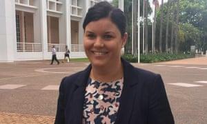 Northern Territory acting chief minister Natasha Fyles