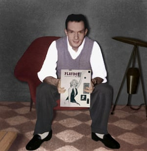 Hefner founded Playboy magazine in 1953