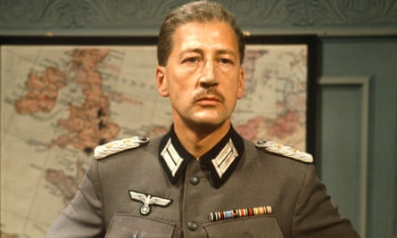 Bernard Hepton as the Kommandant in a 1973 episode of Colditz. He was a German colonel of the old school with a human streak who treated enemy officers with respect.