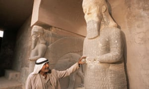 Nimrud is a 13th century BC Assyrian archaeological site close to Mosul, which is controlled by Isis militants.