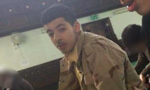 Salman Abedi at Didsbury mosque.