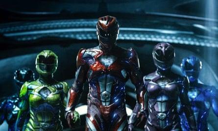 Power Rangers film still
