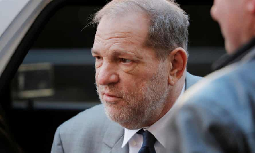 Harvey Weinstein arrives for his sexual assault trial in Manhattan on Tuesday.