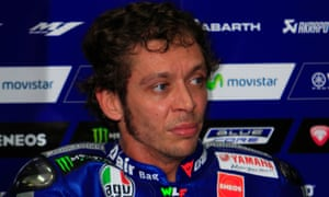 Valentino Rossi said after the MotoGP championship finale in Valencia: 'It is an ugly end to what has been an attractive championship. It has not been a true championship.'