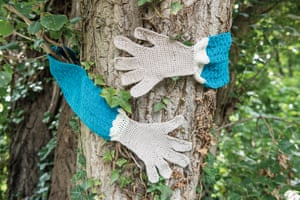 Tree Hugger Scarf from the book Protest Knits by Geraldine Warner