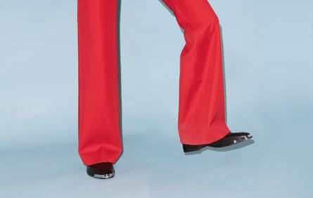 Leg work … Givenchy