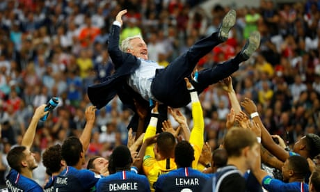 France's Didier Deschamps: 'There's nothing above the World Cup'