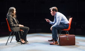 nikki patel and rob brydon in future conditional at the old vic
