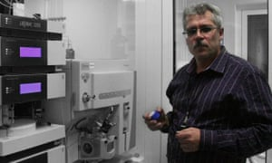 Grigory Rodchenkov, the Russian scientist who says he orchestrated a massive state-sponsored doping programme.