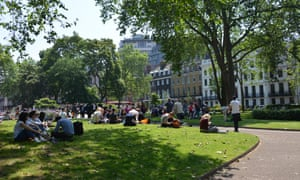 Repton's Bloomsbury Square in London.