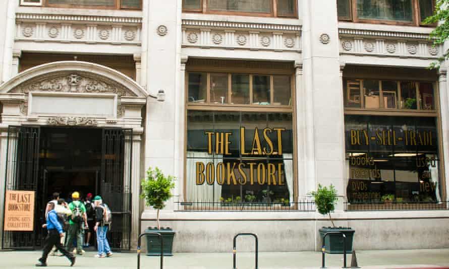 Exterior, The Last Bookstore, LA