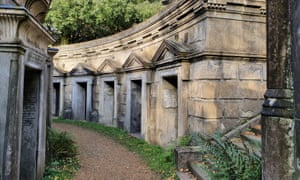 Highgate cemetery attracts thousands of visitors a year.