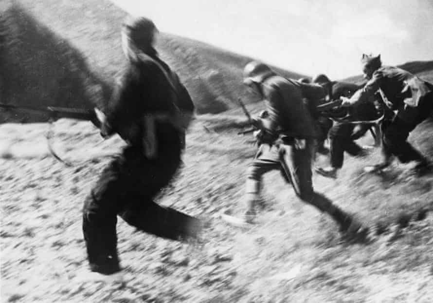 A battle near Madrid during the Spanish Civil War, 1937. Luis Portillo published a piece in a literary magazine entitled Unamuno's Last Lecture.
