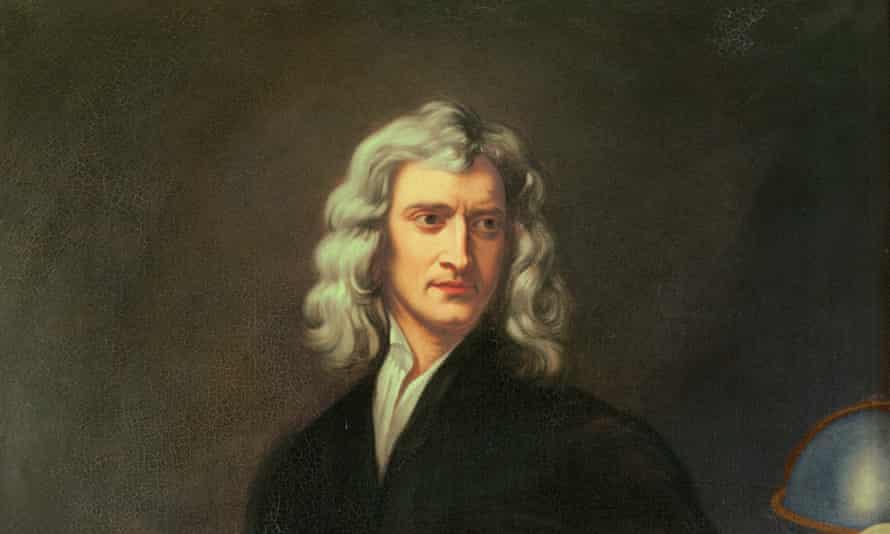 Sir Isaac NewtonENGLAND - JANUARY 01: Sir Isaac Newton (1642-1727) .Canvas. (Photo by Imagno/Getty Images) [Sir Isaac Newton (1642-1727) . Gemaelde.]